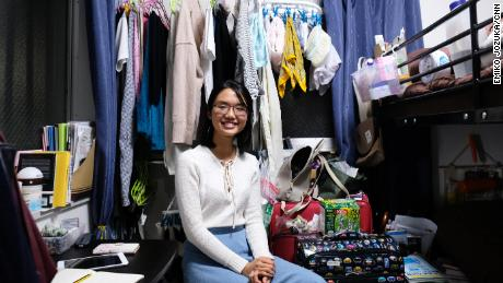 Vietnamese student Linh Nyugen came to Japan to pursue higher education.
