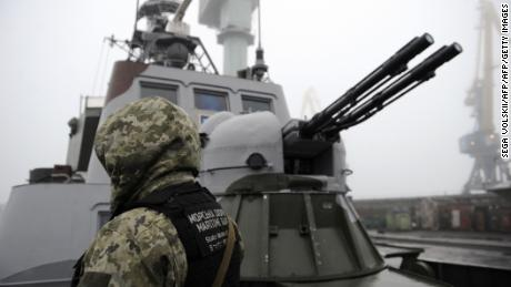 Left to go it alone, Ukraine's navy waits for Russia's next move