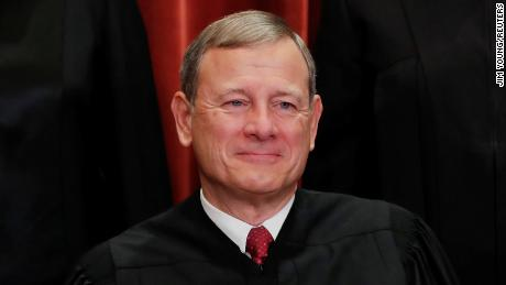 Chief Justice John Roberts takes charge