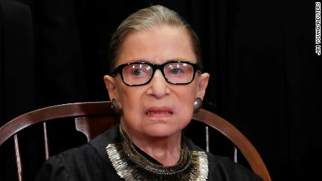 Justice Ginsburg warns the court may be sharply divided over final cases