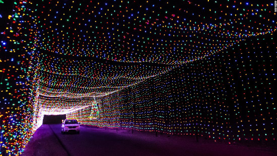 The best Christmas light displays across America