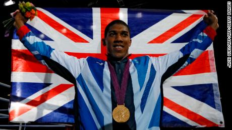 Joshua won the super-heavyweight gold medal at the 2012 Olympic Games in London.