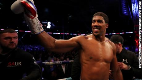 Anthony Joshua has won all 22 of his professional fights to date.