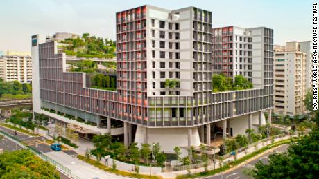 World Building of the Year awarded to innovative Singapore housing complex