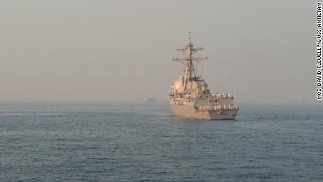 United States  warship challenges Russian Federation  claims in Sea of Japan