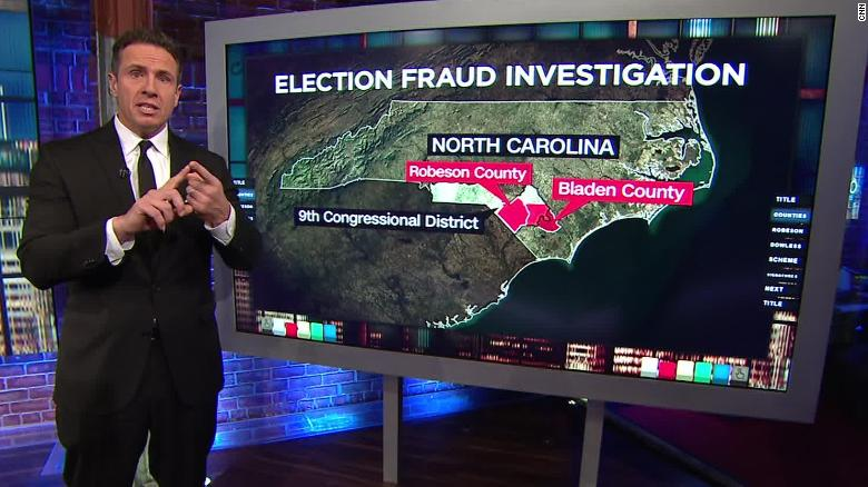 Man at center of NC fraud investigation speaks as Republican denies wrongdoing