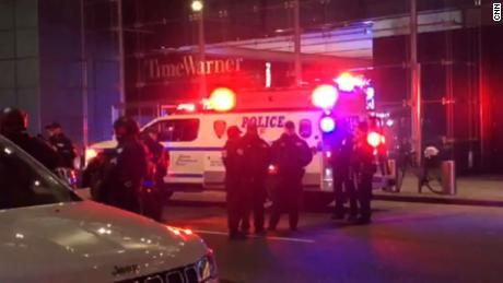 CNN office evacuated due to bomb threat - anchor