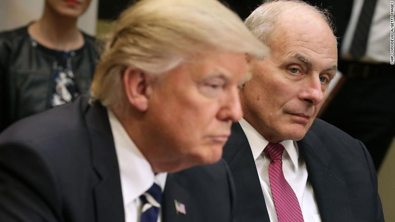 Trump mulls several names for new White House chief of staff