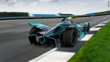 The Formula E 'Gen2' car design is strikingly different.