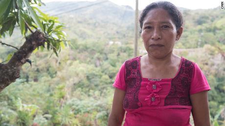 """Two of Gregoria Perez's sons left Honduras in the migrant """"caravan."""""""
