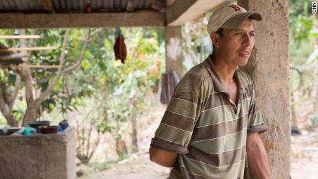 Evelio Ochoa said he fled to the United States three times unsuccessfully.