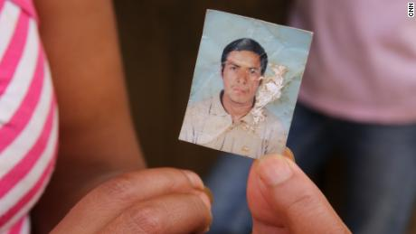"""Germán Ramirez left with the migrant """"caravan"""" in October."""