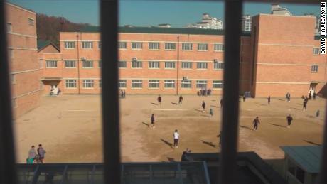 Una vista del Instituto Correccional Nambu de Seúl, que alberga a un gran número de prisioneros ancianos.