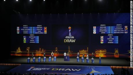 England and Scotland drawn in same Women's World Cup group