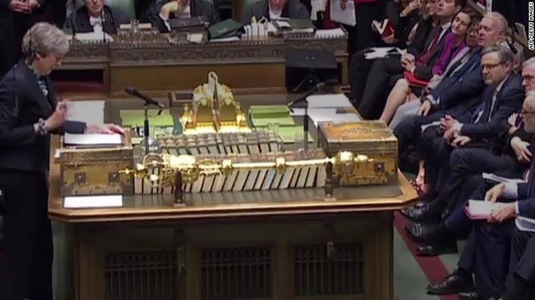 Someone touched Parliament's special mace, and British Twitter is losing it