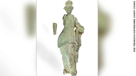 Ancient Roman statue discovered in margarine tub