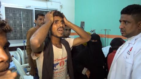 'What gives them the right to bomb us?' Exhausted Yemenis demand halt to war