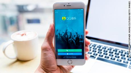 China's Tencent Music debut strikes a chord with investors