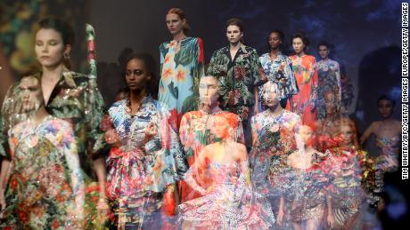 Richard Quinn: The budding designer who lured the Queen to fashion week