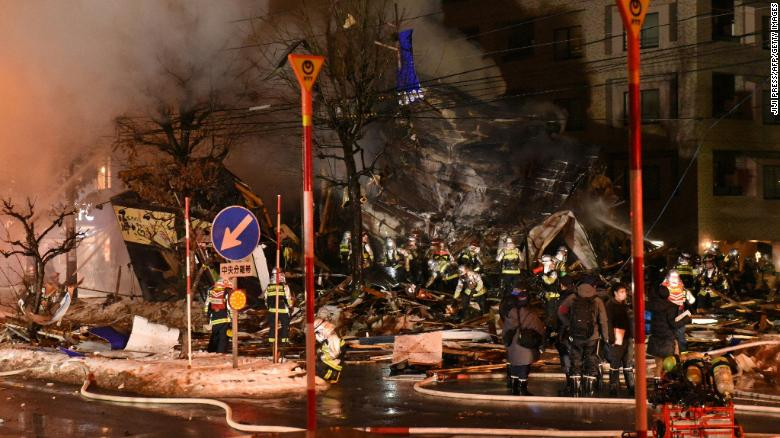 42 people injured in Japan restaurant explosion