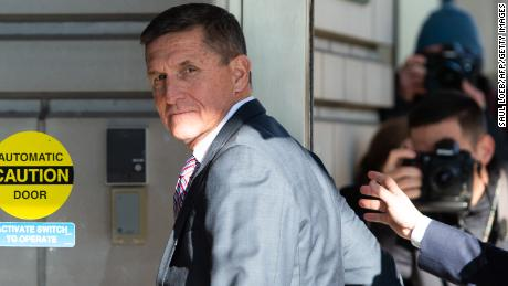 Former US National Security Advisor General Michael Flynn arrives for his sentencing hearing at US District Court in Washington, DC on December 18, 2018. (SAUL LOEB/AFP/Getty Images)
