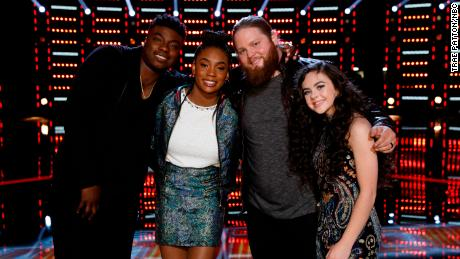 16-year-old takes top spot on 'The Voice' finale