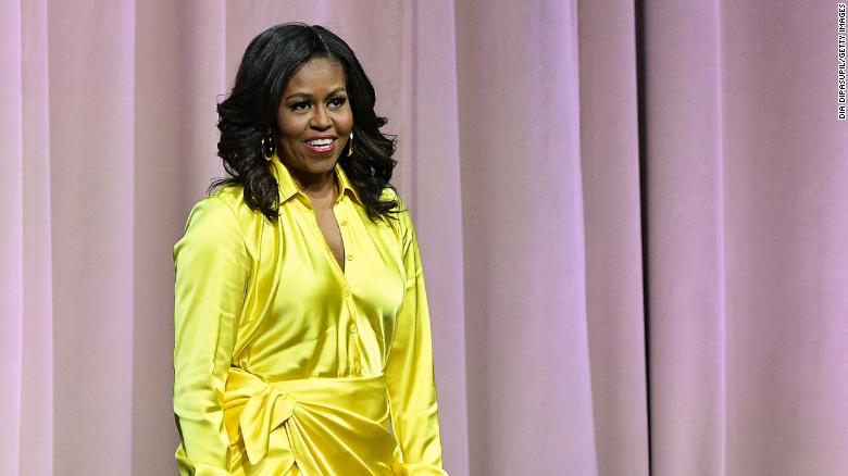 Michelle Obama slammed for comparing Trump to divorced dads