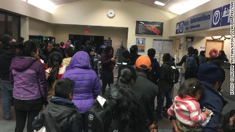 Dozens of immigrants dumped in El Paso