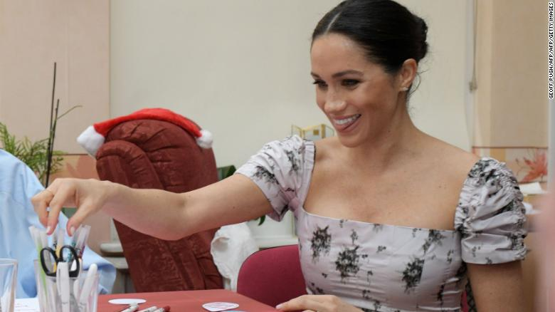Duchess of Sussex sets out royal manifesto with four patronages