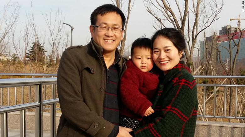 Detained Chinese human rights lawyer sentenced to 4 1/2 years