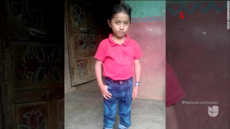 Guatemalan boy, 8, who died in CBP detention center on Christmas Eve