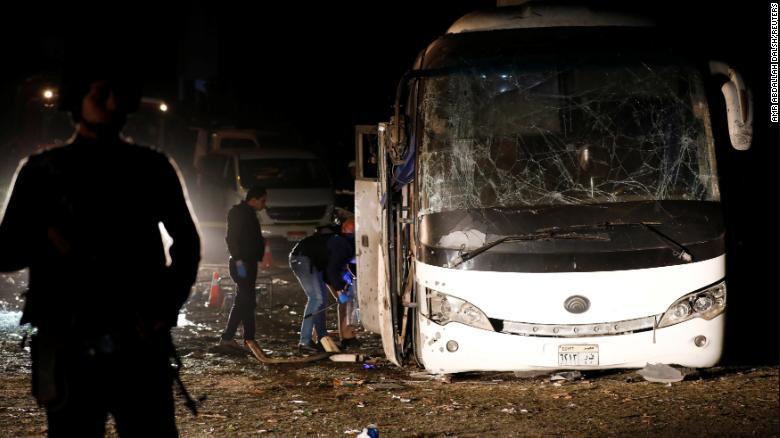 Two killed in roadside bomb attack near Egypt's Giza pyramids