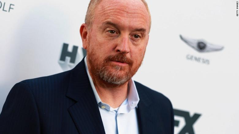 Louis CK mocked Parkland shooting survivors. Now someone is mocking him.