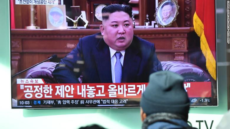 North Korea warns of 'new path' if USA 'continues to break promises'