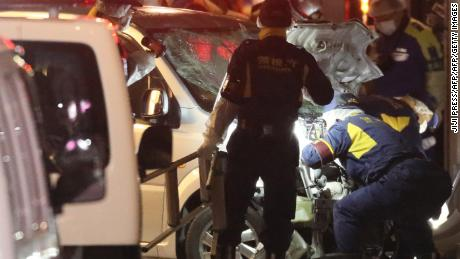 Tokyo auto  attack: Van slams into New Year's revelers, injuring 8 people