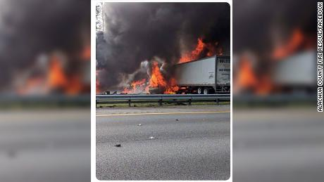 A Deadly, Fiery Crash in Florida
