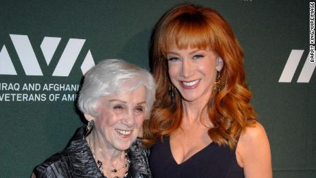 TV personality/comedienne Kathy Griffin and her mom Maggie Griffin attend the Iraq And Afghanistan Veterans Of America's 5th Annual Heroes Celebration on May 8, 2013 at the Mr. C Beverly Hills in Beverly Hills, California.