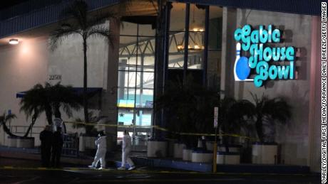 'Multiple victims' in bowling alley shooting in California