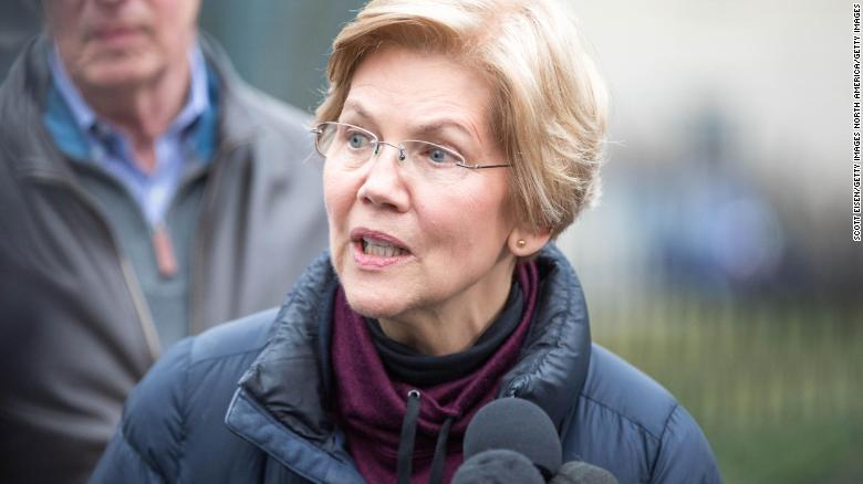 Elizabeth Warren calls for change as she makes 2020 presidential bid official