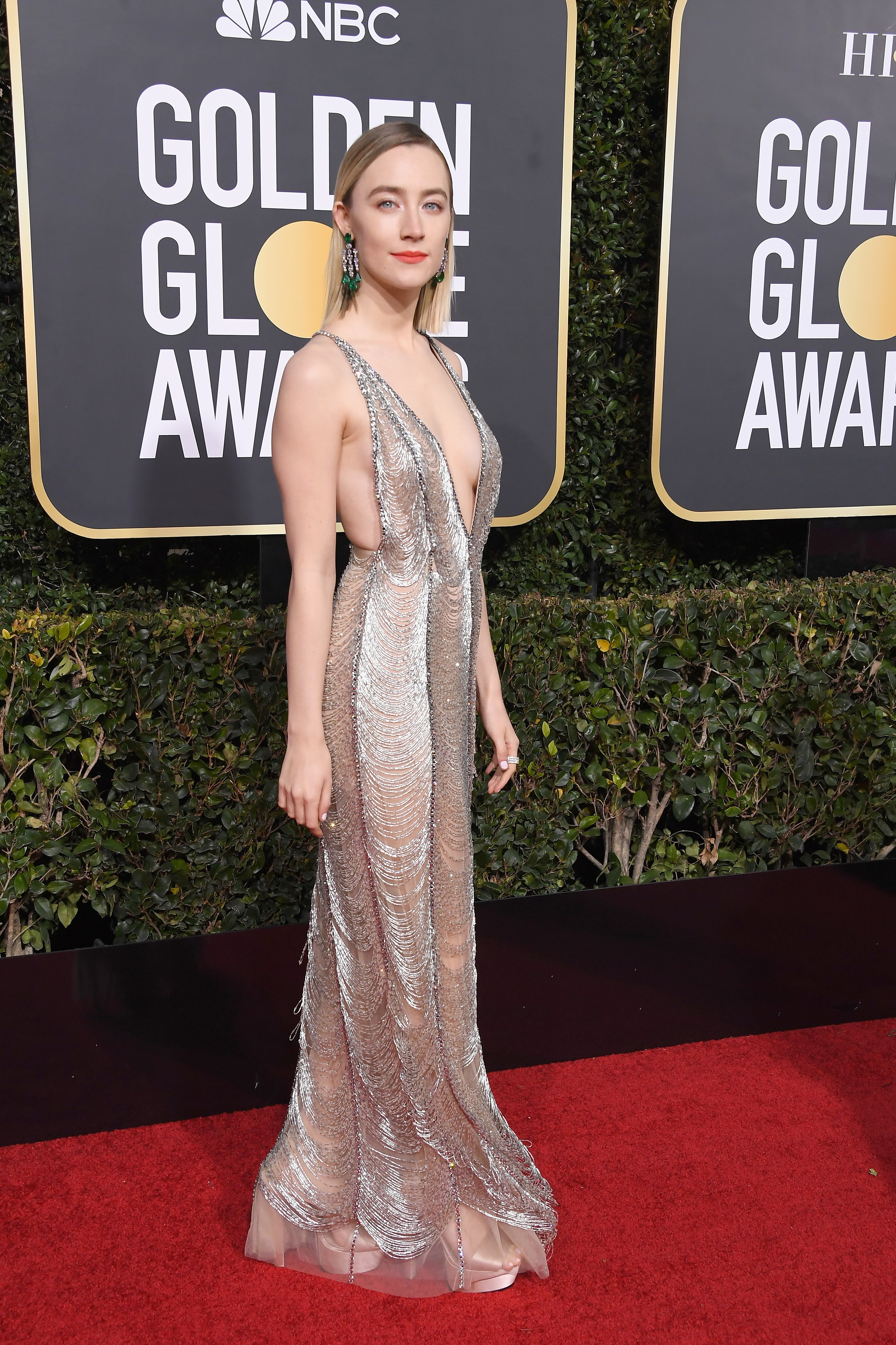 Golden Globes best fashion on the red carpet , CNN Style