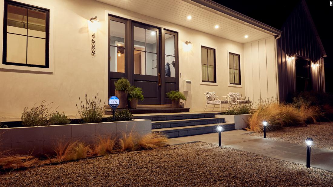 Let your home and surroundings shine with Ring's Smart Lighting