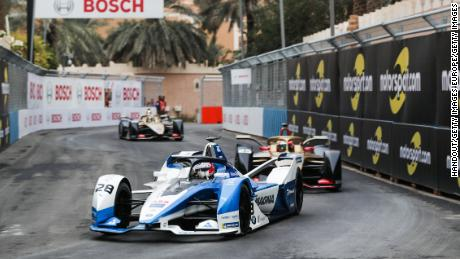 Formula E debuts in Saudi Arabia