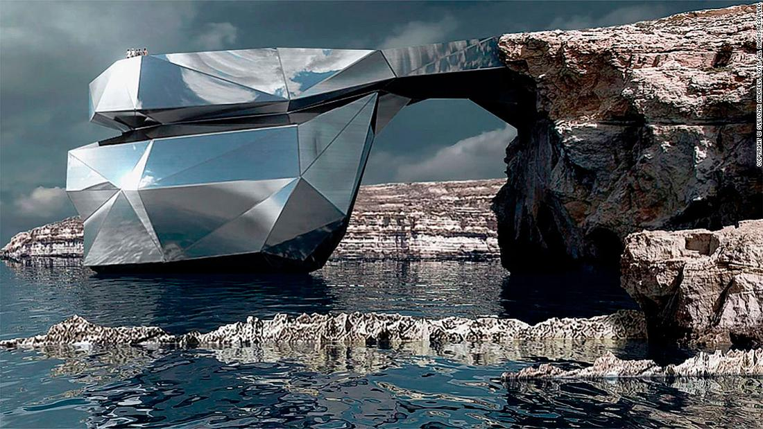 Malta's Azure Window could be replaced by steel archway
