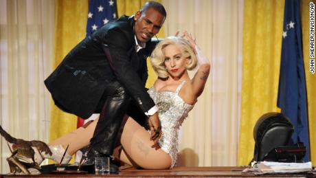Lady Gaga has officially cancelled R. Kelly