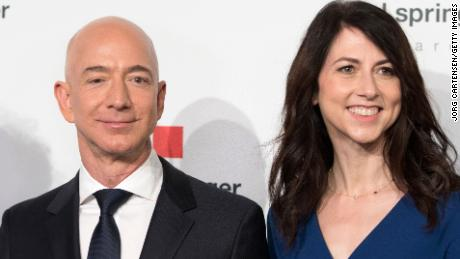 Amazon's Jeff Bezos worth $150bn announces divorce from wife MacKenzie