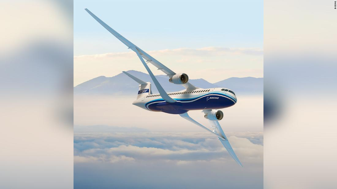 Boeing's radical wing design unveiled
