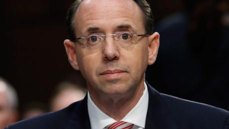 Rod Rosenstein plans to leave Justice Department next month