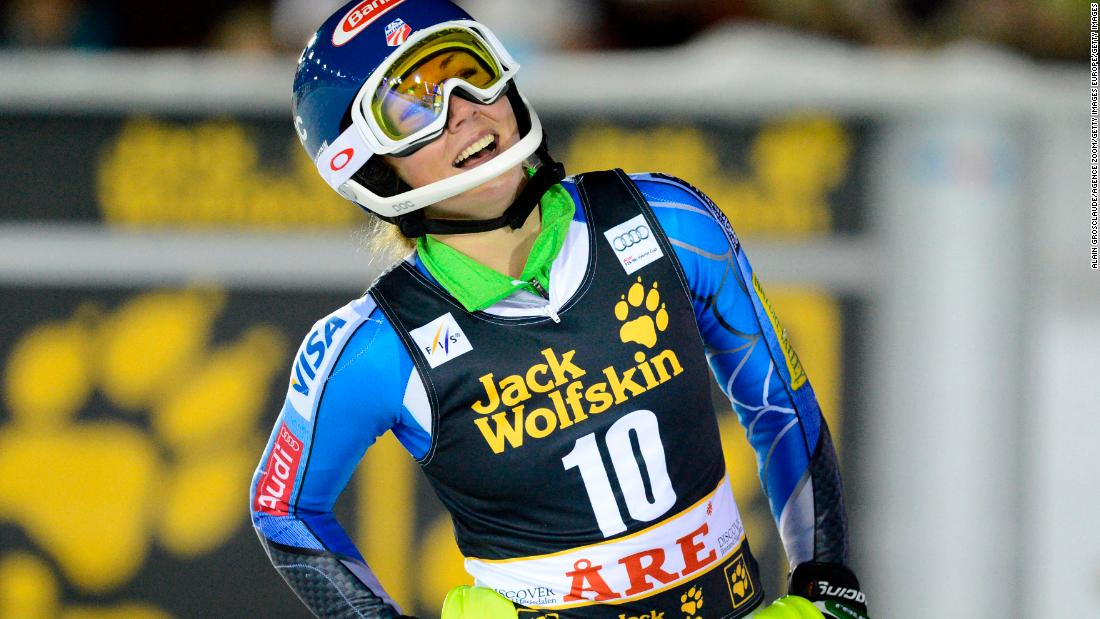 Shiffrin lived up to her hype during the following season, winning her first World Cup slalom event in Lienz, Austria.