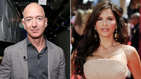 Bezos claims extortion, blackmail from National Enquirer