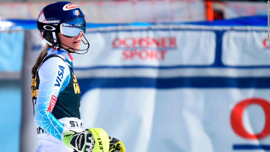 A knee injury stalled her career the following season and she had to settle for fourth in the slalom standings.